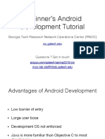 Workshop 04 Android Development