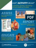 fitness gram brochure