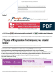7 Types of Regression Techniques you should know.pdf