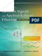 Brown R.G., Hwang P.Y.C.- Introduction to Random Signals and Applied Kalman Filtering With Matlab Exercises-Wiley (2012)