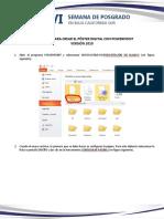 Instructivo y Ejemplo Póster Digital