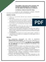 1.Teoría en La Acción Sobre La Relación Con El Paciente Analisis