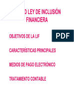 Unidad Ley de Inclusión Financiera