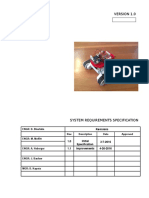 systemrequirementsspecification