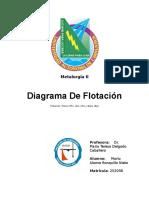 Diagrama de Flotacion