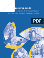 OHS Training Guide - Cleaining & Property Services Industry - Work Skills Matrix & Haza