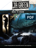 Delta Green Need to Know
