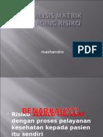 Analisis Matrik Grading Risiko