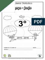 3o. Material de Apoyo Mayo -Junio 2015-2016