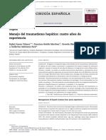 Revision Trauma Hepatico Clasificacion