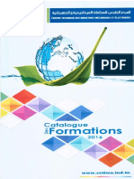 Catalogue des Formations 2016 du CETIME