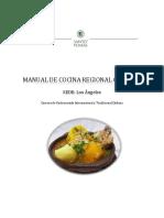 Manual de Cocina Regional Los Angeles
