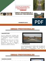 Obras Probisionales y Trabajos Preliminares