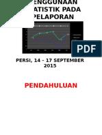 Penggunaan Statistik Pada Pelaporan Surveilans