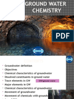 ground water chemistry