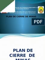 Plan de Cierre Minas
