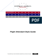 Flight Attendant Style Guide