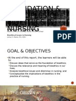 Nieve, Blaise - Foundation and Principles of Bioethics in Nursing - Introduction