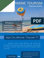 Marine Tourism Tanjung Benoa - MSPa - Departemen Perikanan UGM