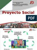 proyecto social y comunitario