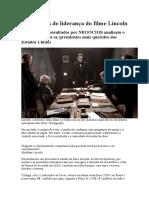 As 13 lições de liderança do filme Lincoln.docx