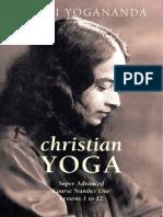Paramahansa Yogananda - Christian Yoga - Supe Advanced Course Number 1 - Lessons 1-12 (163p) [Anomolous]