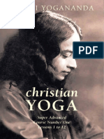 Paramahansa Yogananda - Christian Yoga - Supe Advanced Course Number 1 - Lessons 1-12 (163p) [Anomolous]