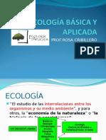 Ecología Básica y Aplicada