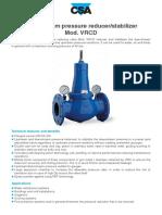Pressure Control Valve VRCD