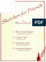 HEAD Brian - Sketches For Friends (Edited By William Kanengiser) (guitar - chitarra).pdf