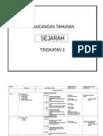 RancanganTahunanSejarahForm1