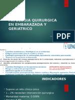 Patologia Quirurgica en Embarazada y Geriatrico