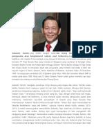 Sukanto Tanoto Dan Peter Firmansyah Pengusaha Sukses