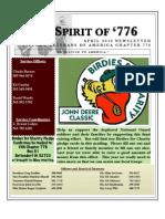 Vietnam Veterans of America Chapter 776, May 2010 Newsletter