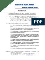 Reglamento Secretaria Nacional de Arbitraje