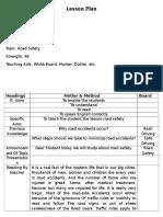 B.ed Lesson Plan (English)