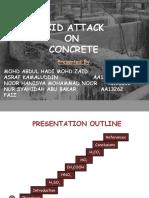 acid attack on concrete