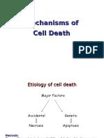 Mechanisms of Cell Death 2012
