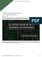 La Cultura Hacker en La Ingeniería de Estructuras _ Estructurando