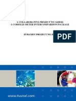 Euramet-p1020 Flow Final Report
