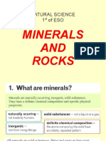 Biology & Geology. 1st of ESO. Minerals and Rocks.