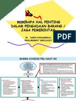 Beberapa Hal Penting Dalam Pbj Pemerintah