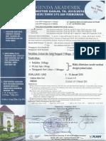 Agenda Akademik Ganjil UII 2015-2016