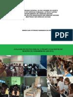 Avaliação de Política Pública o ProInfo e Sua Gestão No Município de Parnamirim (2009-2012)