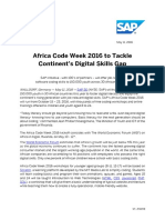 Africa Code Week 2016 to Tackle Continent's Digital Skills Gap
