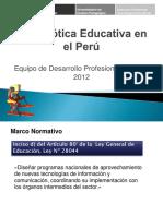 03 La Robótica Educativa en El Perú