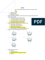 written exam questions -answer key