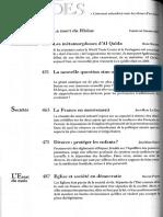 Aparecida, Revue Études J. B. Libanio