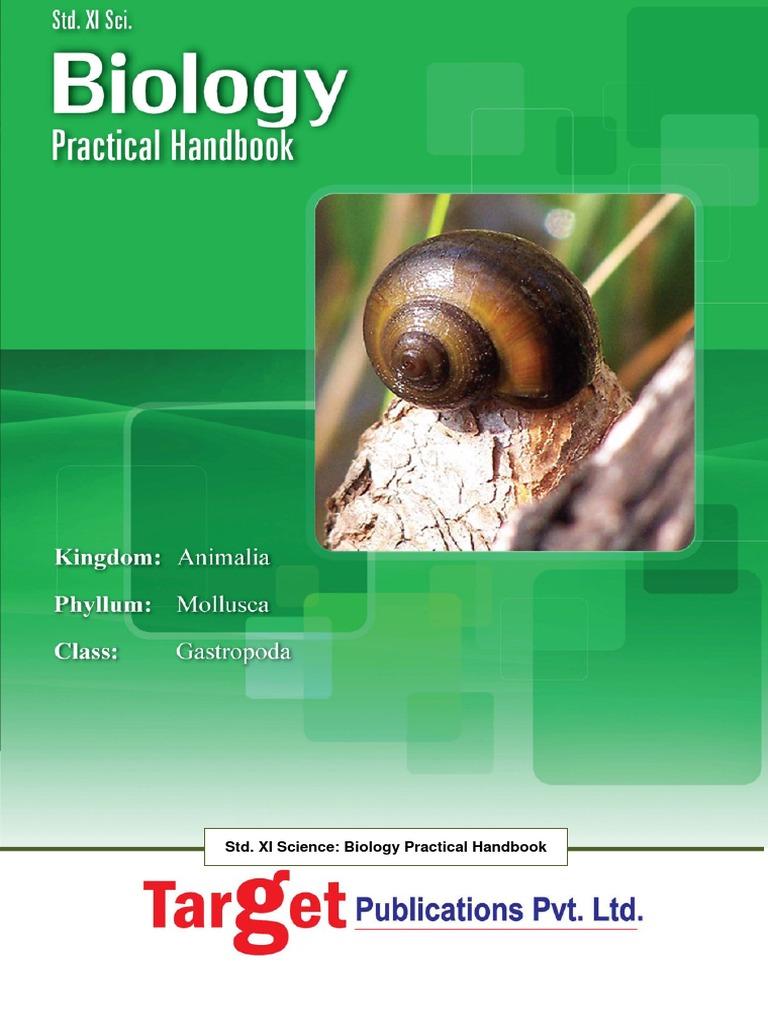 Biology Practical Handbook Class 11 | Plant Stem | Tissue