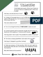 Brain Teaser Question Sheet.pdf